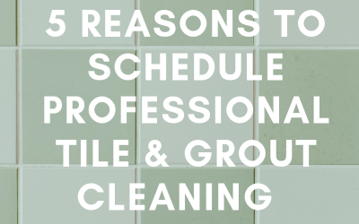 5 Reasons To Schedule Professional Tile & Grout Cleaning