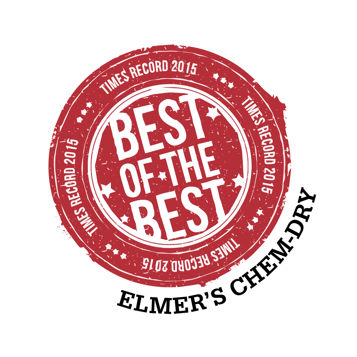 2015 Best of the Best award sticker