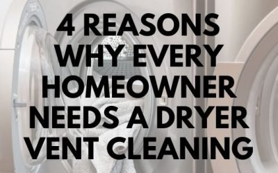 4 Reasons Why Every Homeowner Needs a Dryer Vent Cleaning